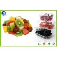 Buy cheap Collapsible Plastic Blister Packaging 4 Compartments Spring Basket PP Fruit Tray from wholesalers