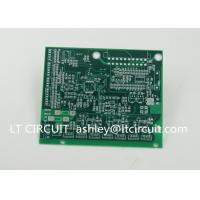 Buy cheap Impedance Control Printed Circuit Board PCB Lead Free HASL Green Solder Mask from wholesalers