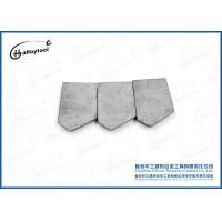Buy cheap M10 Left Tungsten Carbide Tips High Strength For Sort Rock Formation from wholesalers