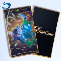 Buy cheap 0.35mm PET 3D Lenticular Playing Cards / Gold Game Cards Oil - Resistance from wholesalers