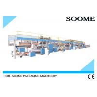 Buy cheap 3 / 5 /7 Ply Corrugated Cardboard Production Line , Sheet Board Making Machines from wholesalers