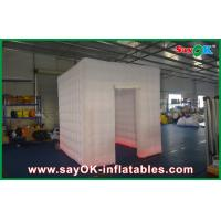 Buy cheap Printed Led Inflatable Photo Booth For Party / Waterproof Inflatable Photobooth from wholesalers