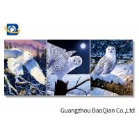 Buy cheap 3D Wallpaper Lenticular Flip Animal Bird / Horse Picture 4 Colour 3D UV Printing from wholesalers