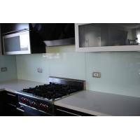 Buy cheap Painted Glass Kitchen Backsplash , Seamless Glass Backsplash from wholesalers