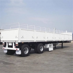 Buy cheap CIMC Logistics 2 Axle Platform 60T Side Wall Semi Trailer from wholesalers