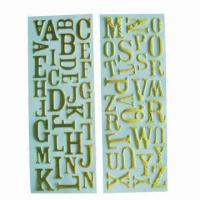 Buy cheap Glitter alphabet puffy stickers/foam stickers, used for anywhere such as bag, book, gift and card product