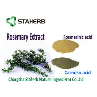 Buy cheap Light Brown Powder Rosemary Leaf Extract ,  Organic Rosemary ExtractKill Free Radicals from wholesalers
