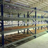 Buy cheap Carton Flow Rack Pallet  Shelving   Green Red Grey Color Available from wholesalers