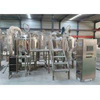 Buy cheap 300L Commercial Beer Brewing Equipment Stainless Steel 304 Body Material from wholesalers