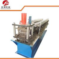 Buy cheap Hydraulic Cutting Shutter Door Roll Forming Machine With 0-15m/Min Forming Speed from wholesalers