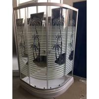 Buy cheap Palm Tree Shower Cabin With Tray , Bathroom Corner Shower Enclosures Pop - Up Waste Drain from wholesalers