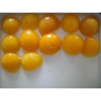Buy cheap Light Syrup Canned Fruit , Sweet Canning Fresh Yellow Peach Halves from wholesalers