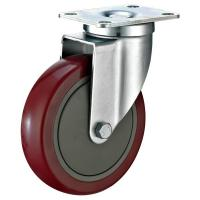 Buy cheap 5 Industrial Trolley Wheels , Plate Fitting Industrial Swivel Wheels from wholesalers