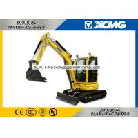 Buy cheap XCMG Official  XE35U 3.5ton mini crawler excavator machine mini excavator from wholesalers
