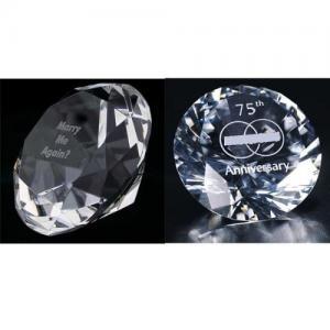 China diamond paperweight on sale