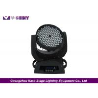 Buy cheap Flower Effect 108X3w LED Moving Head Led Lights Ultra Brightness For Theater from wholesalers