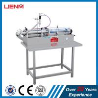 Buy cheap Single Filling Nozzle Pneumatic Cosmetic Oil Cleansing Water Essential Oil Filler Packing Machinery from wholesalers