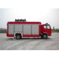 Buy cheap 8 Ton 2 KW Light Fire Truck Wireless Controlling With Auxiliary Lighting from wholesalers