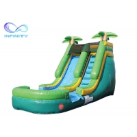 Buy cheap Inflatable Jumping Castle Water Slide Games Land Water Park Slide Bounce House product