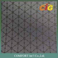 Buy cheap 150cm Width 100% Polyester Tatting Custom Car Upholstery Fabric For Car Seat Cover product