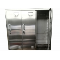 Buy cheap Clean Room Laboratory SS 304/316L Cleanroom Garment Cabinet Locker Free Design product