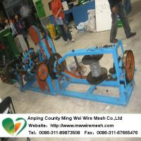 Buy cheap Automatic Barbed wire machine for general double-stranded wire rope from wholesalers
