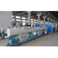 Buy cheap ISO Approval PPR Pipe Extrusion Line 104 - 150KW Input Power High Output from wholesalers