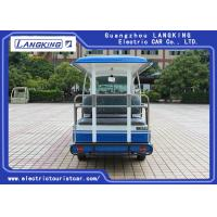 Buy cheap 72V 14 Seats Electric Shuttle Vehicles For Multi Passenger 28km/H Max. Speed Balck Seat With Curtain from wholesalers