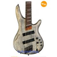 Buy cheap Ibanez SRFF805 Fanned Fret 5-string bass - Black Stained Ash from wholesalers