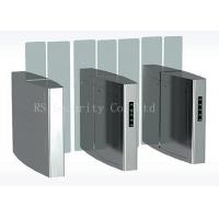 Buy cheap Outdoor Turnstile Speed Gates, Full Height Glass Barrier Security Gate from wholesalers
