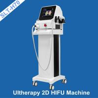 Buy cheap 10 Lines per shot 2D HIFU Machine , Ultherapy Ultrasound Skin Tightening Facial Lift from wholesalers