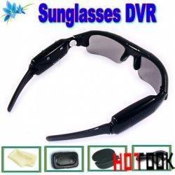 China Mini Hidden Audio Camera Sunglasses DVR Recorder DV on sale
