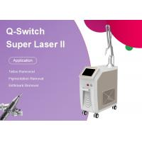 Buy cheap 1 - 8mm Spot Size Q Switch Nd Yag Tattoo Removal Machine Water Cooling from wholesalers
