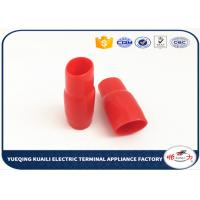 Buy cheap Plastic Terminal Vinyl Wire End Caps , Vinyl Hats Electric Cable Terminal Cover V14 from wholesalers