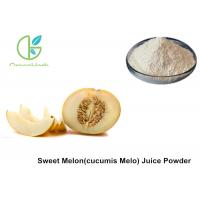 Buy cheap Fruit And Vegetable Powder , Pure Sweet Cucumis Melo L Juice Powder from wholesalers