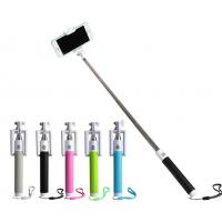 Buy cheap Lightweight Mobile Phone Selfie Stick , Foldable Selfie Bluetooth Monopod from wholesalers