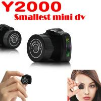 Buy cheap Y2000 2MP Smallest Mini DVR Camera Spy Hidden Covert Video Recorder Camcorder PC Webcam from wholesalers