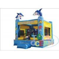 Buy cheap Mini Sea Ocean Inflatable Bouncer House With Fish Design Commercial Party Rental from wholesalers