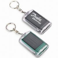 Buy cheap Solar Flashlights Keychain, Easy to Carry, Suitable for Traveling from wholesalers