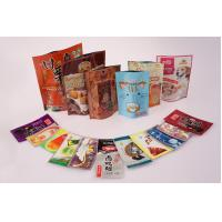 Buy cheap Stand Up Mylar Zipper Food Packaging Pouch Heat Seal User - friendly from wholesalers
