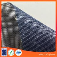 Buy cheap Textilene mesh PVC Coated Polyester fabric dark blue color 1x1 weave Textilene from wholesalers