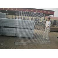 Buy cheap Wire Mesh Fence Panels , Euro Mesh Fencing With 3.00-5.00mm Wire Diameter from wholesalers