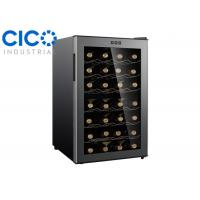 Buy cheap Electric Thermoelectric Wine Refrigerator , Dual Zone Wine Fridge from wholesalers