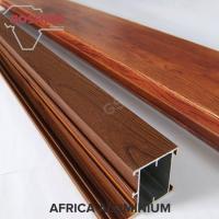 Buy cheap Customize Wood Finish Aluminium Profiles Clear Texture ISO14001 2004 product
