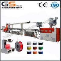 Buy cheap abs pla 3d printer plastic filament extruding machine from wholesalers