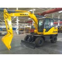 Buy cheap china wheel excavator digger for sale from wholesalers
