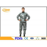 Buy cheap PE / PVC Disposable Neoprene Sweat Suit For Losing Weight / Working Out from wholesalers