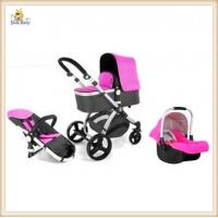 Buy cheap 3 In 1 Modern Baby Buggy Strollers for big kids Light Weight Aluminum Frame from wholesalers