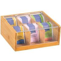 Buy cheap high quality bamboo tea box tea packing box from wholesalers