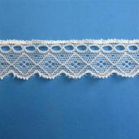 Buy cheap 2.5cm stretch lace trims,Spandex and Nylon used for garments,shoes,and other clothes from wholesalers